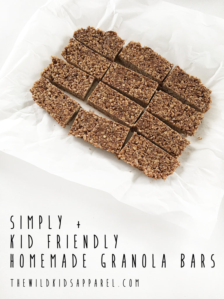 Easy and Delicious Homemade Granola Bars - Kid Friendly!