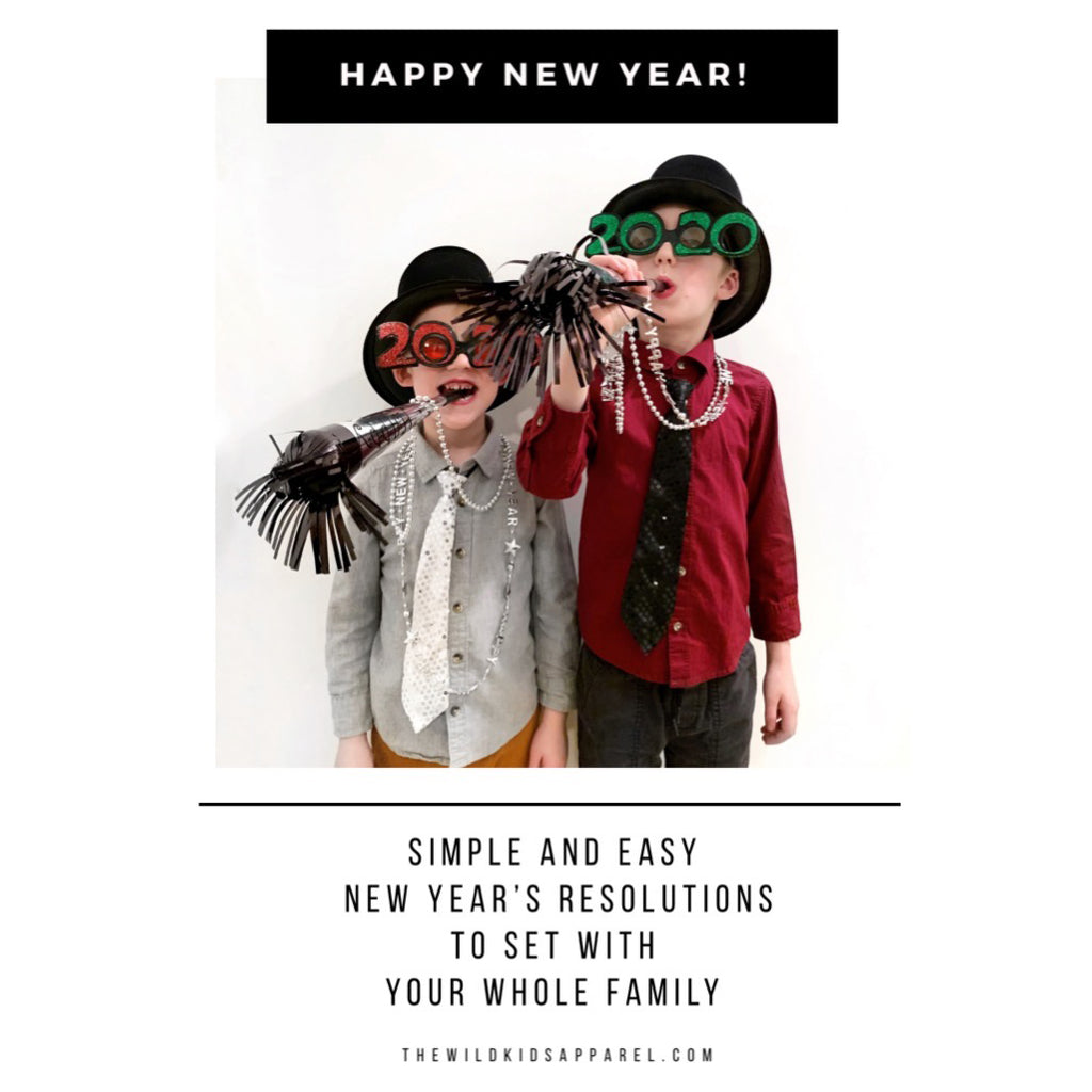Simple, Easy New Year's Resolutions To Set With Your Whole Family