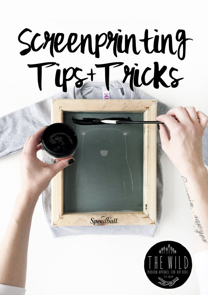 Screen Printing Tips and Tricks for Beginners