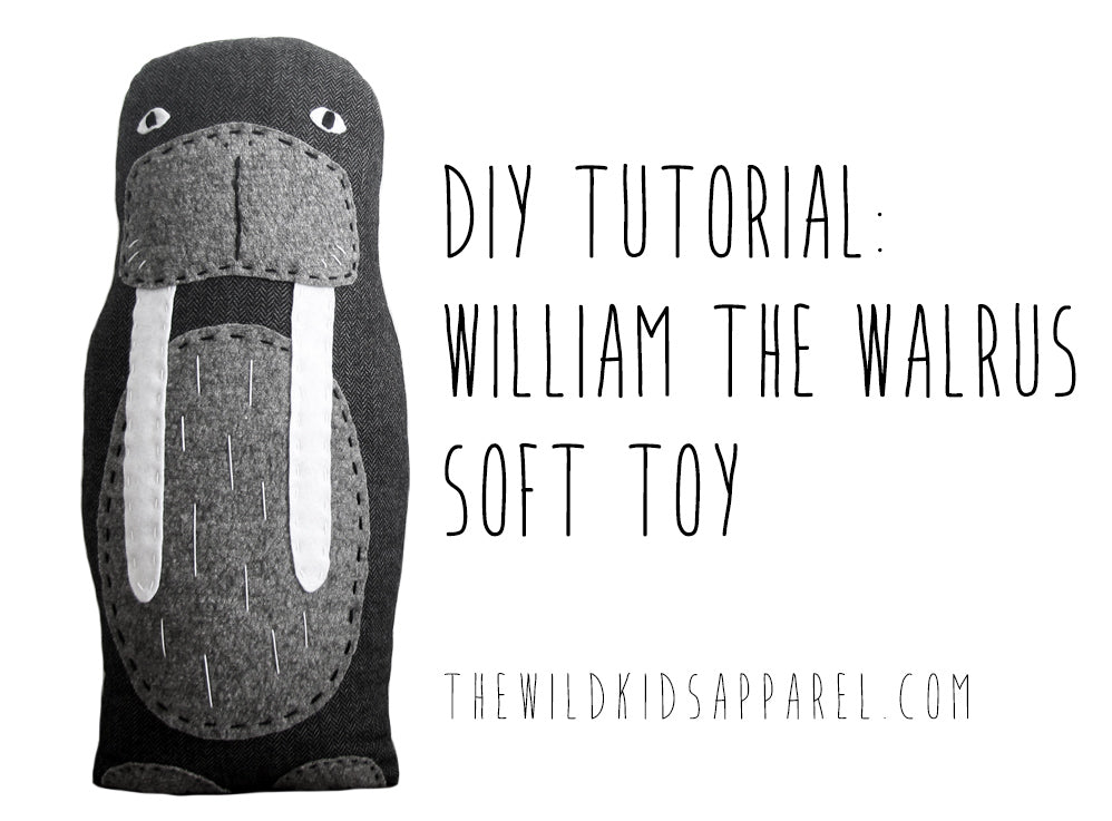 DIY Tutorial - Make Your Own William the Walrus by The Wild