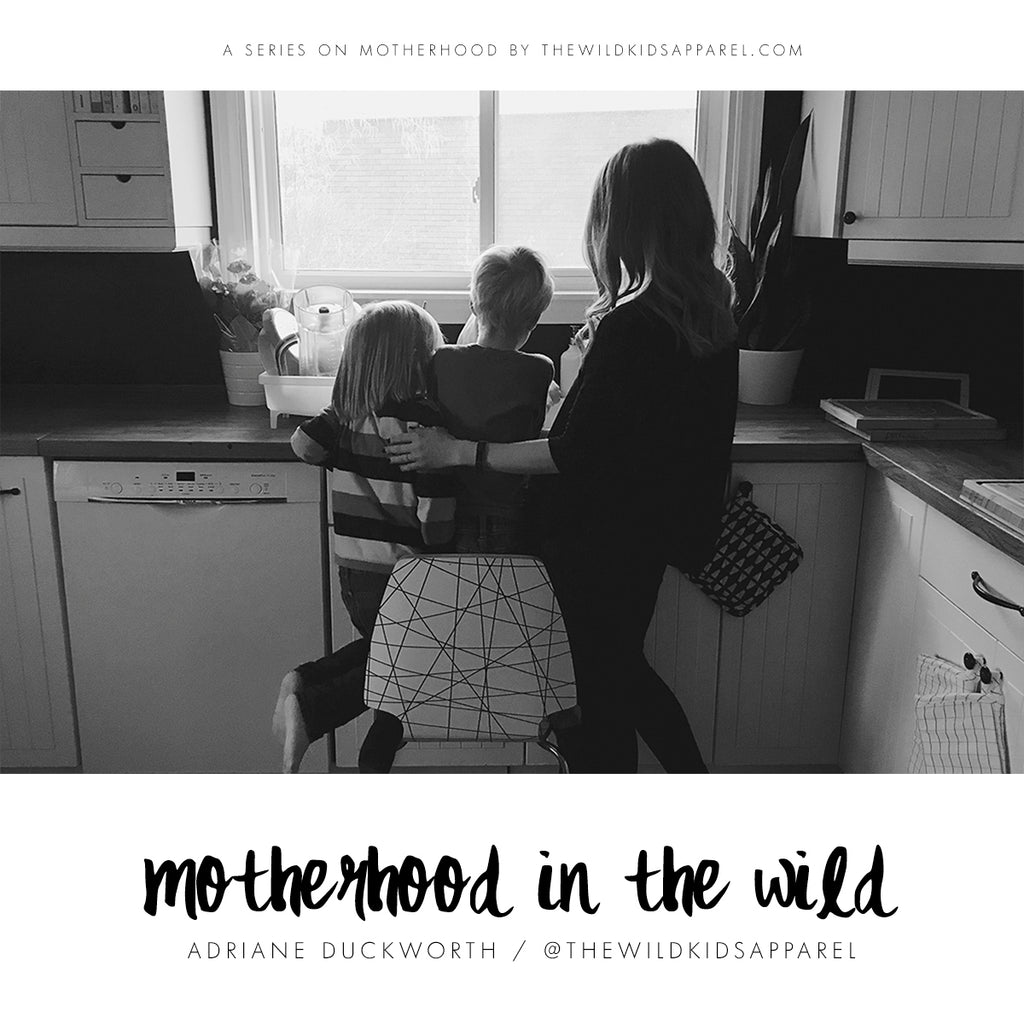 Motherhood In The Wild - A series on motherhood by thewildkidsapparel.com