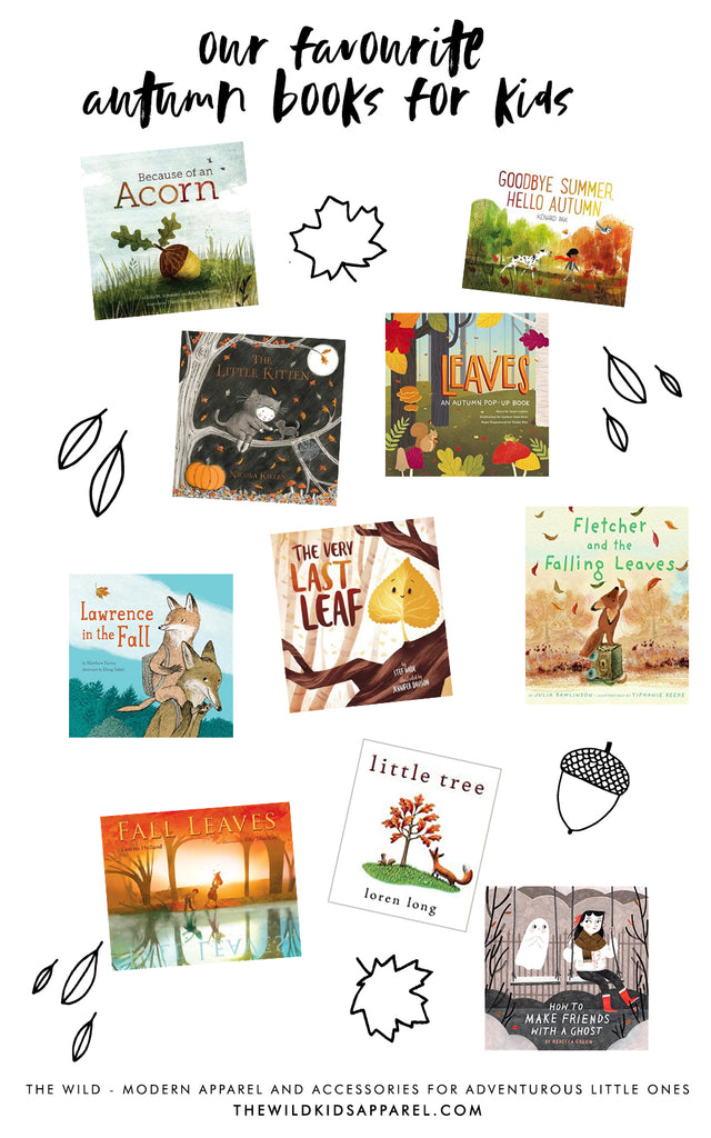 Best Autumn Books For Kids - thewildkidsapparel.com