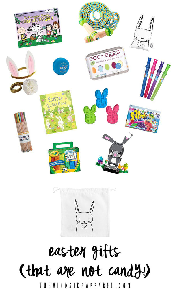 Easter gift ideas that are not candy t h e w i l d modern easter gifts that are not candy a collection of ideas by the wild kids apparel negle Choice Image