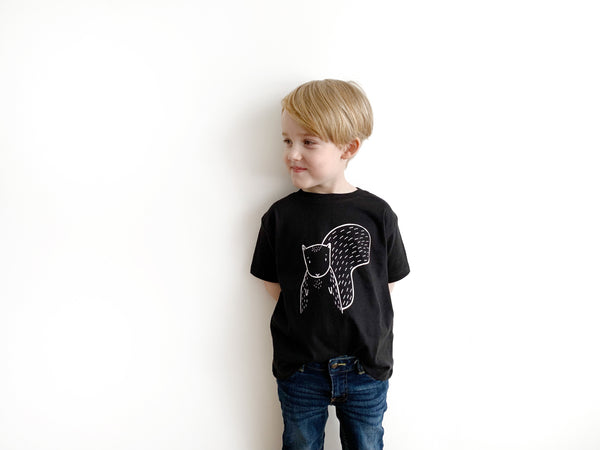 Scout the Squirrel Kids T-Shirt by The Wild - thewildkidsapparel.com