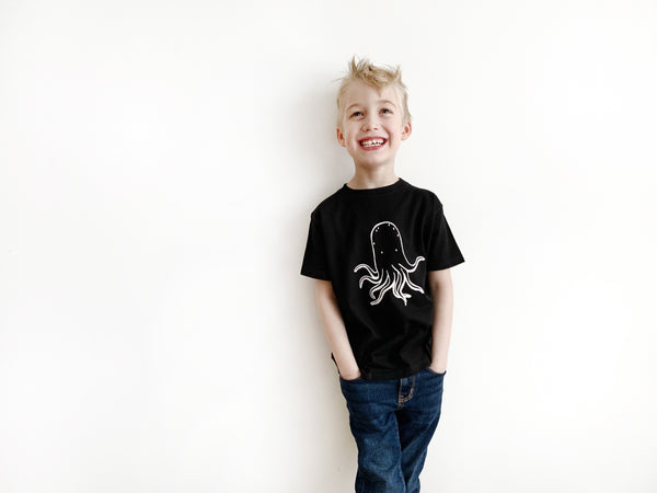 Otis the Octopus Kids T-Shirt by The Wild - thewildkidsapparel.com