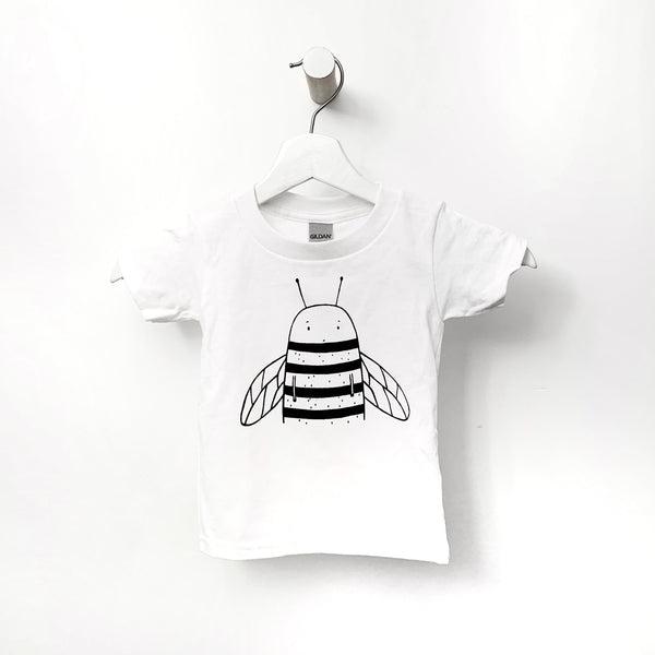 Bowie the Bumblebee Kids T-Shirt by The Wild - thewildkidsapparel.com