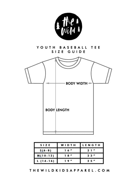 Custom Youth Baseball Tee - Your choice of character!
