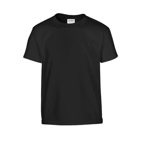 Custom Youth Black T-Shirt - Your choice of character!