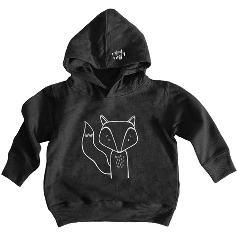 Finn the Fox Hooded Sweater by The Wild - thewildkidsapparel.com