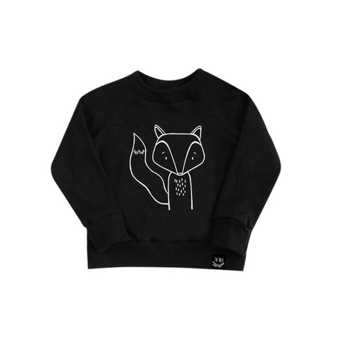 Finn the Fox French Terry Sweater by The Wild - thewildkidsapparel.com
