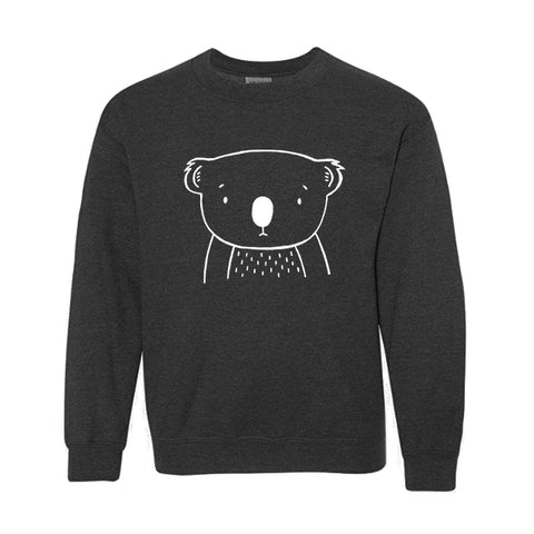 Kurt the Koala Kids Sweatshirt - thewildkidsapparel.com