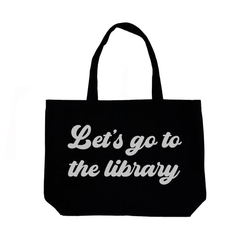 Let's Go To The Library Tote by The Wild - thewildkidsapparel.com
