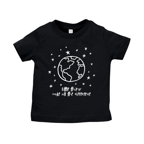 Little Things Make All The Difference Kids T-Shirt by The Wild - thewildkidsapparel.com