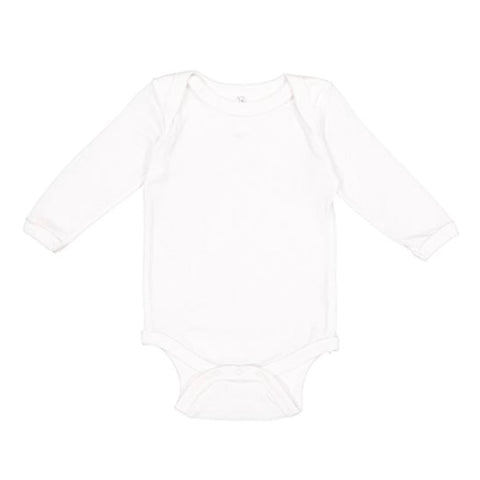Custom White Long Sleeve Onesie - Choose Your Own Design!