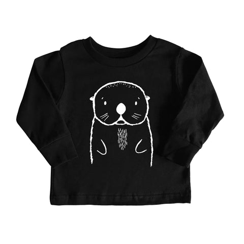Oslo the Otter Long Sleeve Tee by The Wild - thewildkidsapparel.com