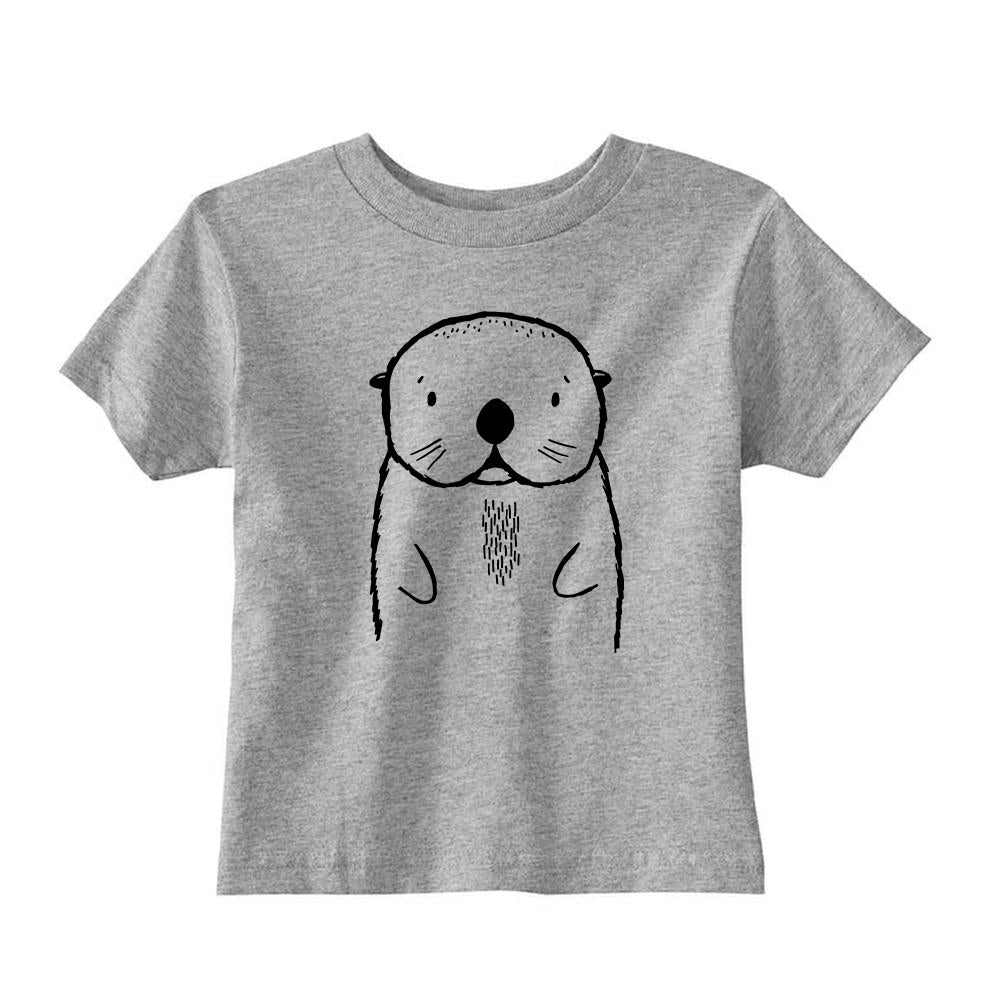 Oslo the Otter Kids T-shirt by The Wild - thewildkidsapparel.com