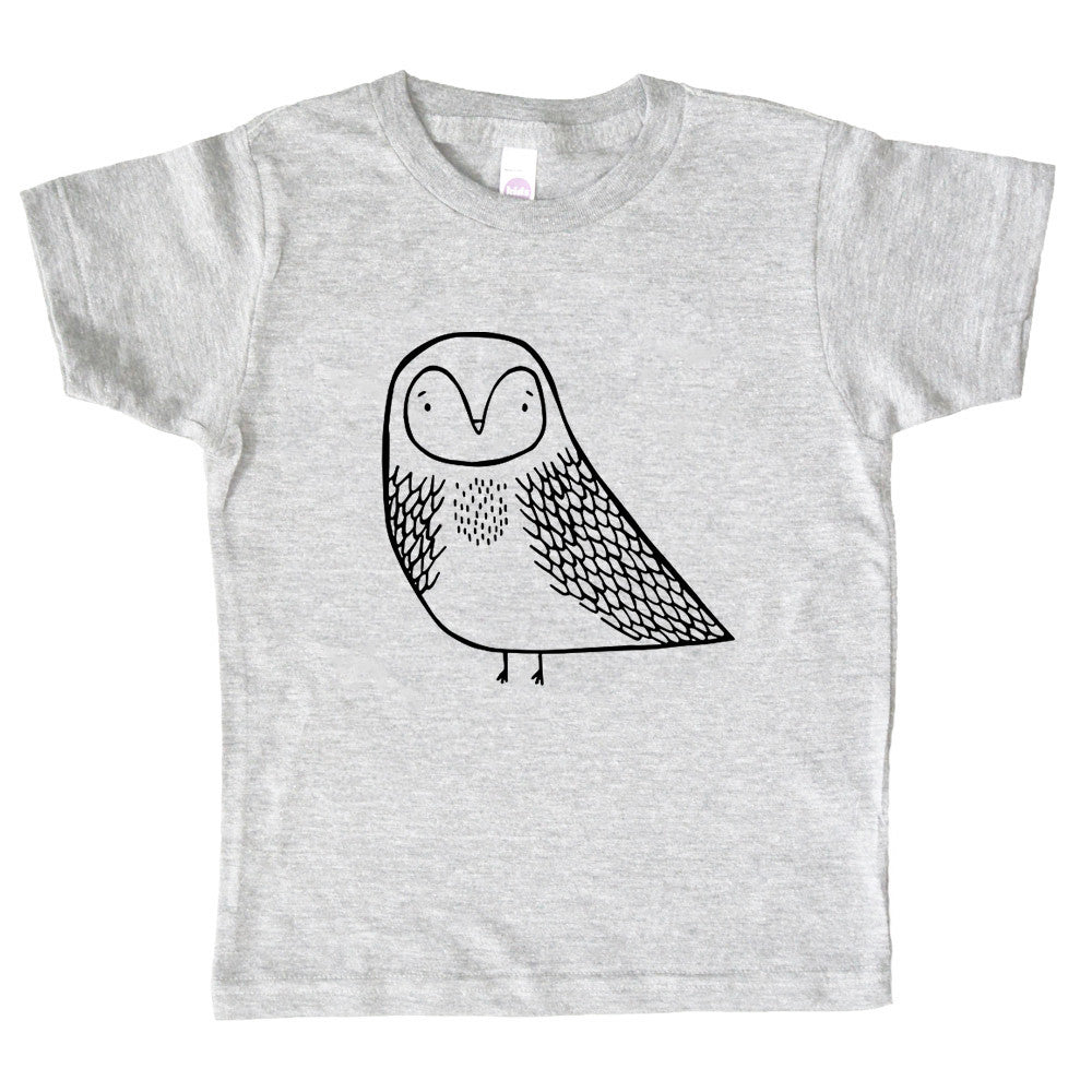 Olwyne the Owl Kids Tee by The Wild
