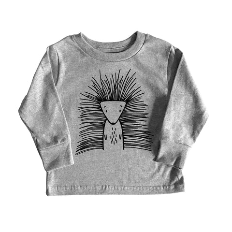 Pip the Porcupine Long Sleeve Tee by The Wild - thewildkidsapparel.com