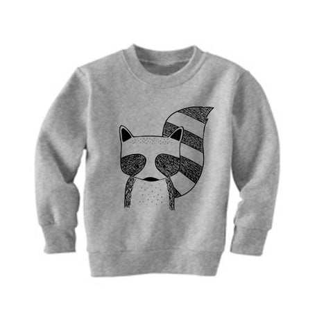 Rocky the Raccoon Sweatshirt by The Wild - thewildkidsapparel.com