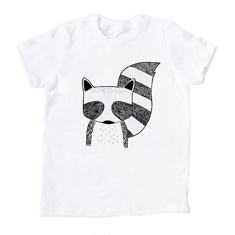 Rocky The Raccoon Kids T Shirt