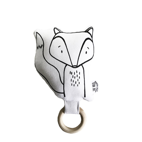 Finn the Fox Baby Rattle by The Wild - thewildkidsapparel.com