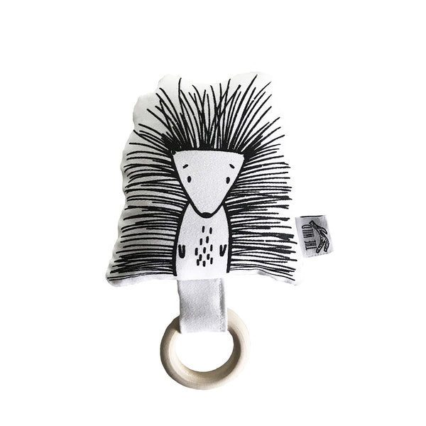 Pip the Porcupine Baby Rattle by The Wild - thewildkidsapparel.com