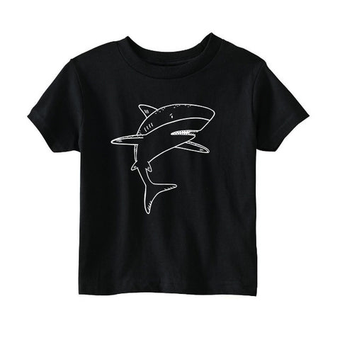 Skylar the Shark Kids T-Shirt - thewildkidsapparel.com