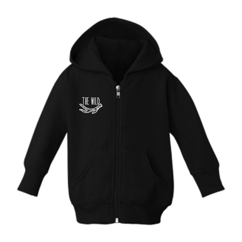 Skylar the Shark Zip-Up Toddler Hoodie by The Wild - thewildkidsapparel.com