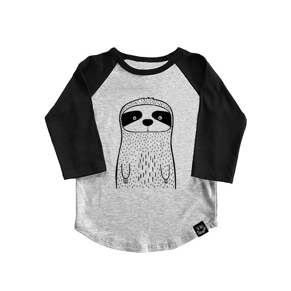 Seymour The Sloth Baseball Tee