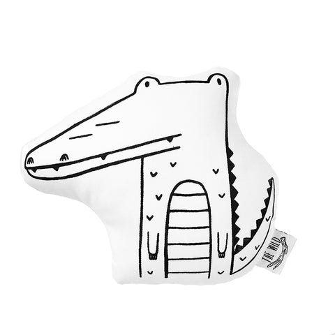 Arthur the Alligator Soft Toy Pillow by The Wild - thewildkidsapparel.com