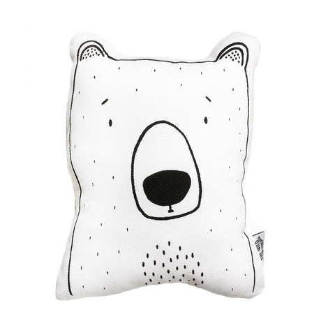 Bob the Grizzly Bear Soft Toy Pillow by The Wild