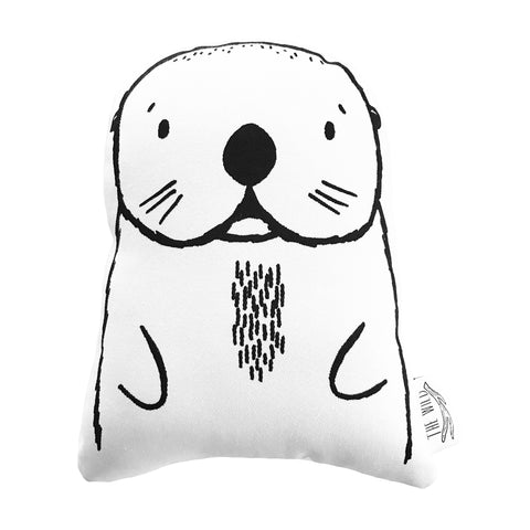 Oslo the Otter Soft Toy Pillow by The Wild