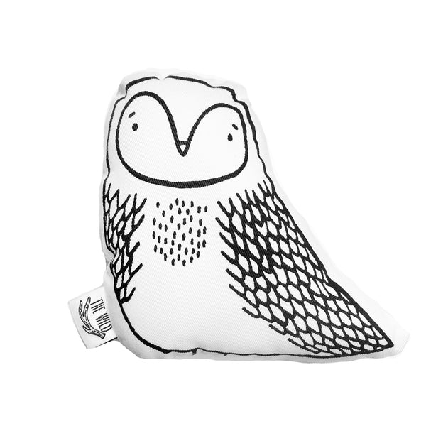 Olwyne the Owl Soft Toy Pillow by The Wild