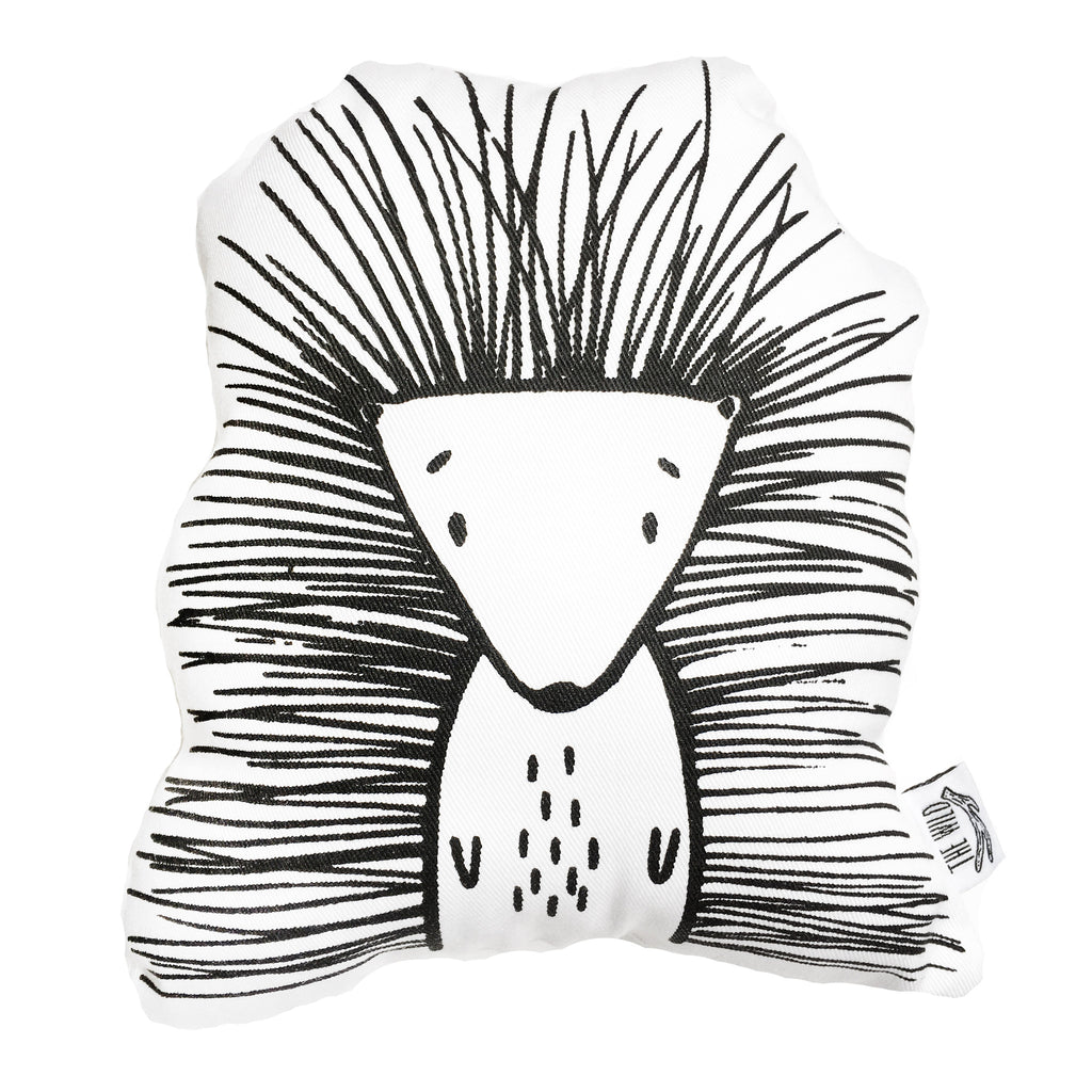 Pip the Porcupine Soft Toy Pillow by The Wild