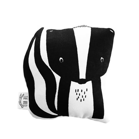 Sawyer the Skunk Soft Toy Pillow