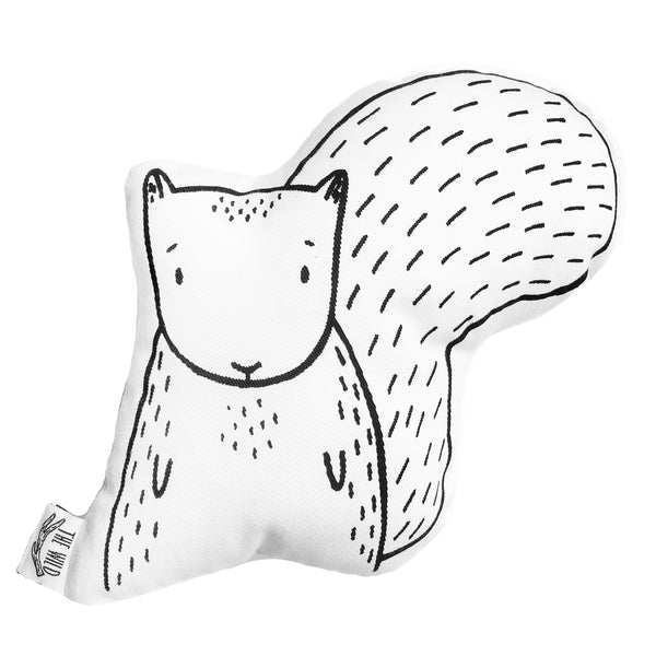 Scout the Squirrel Soft Toy Pillow by The Wild