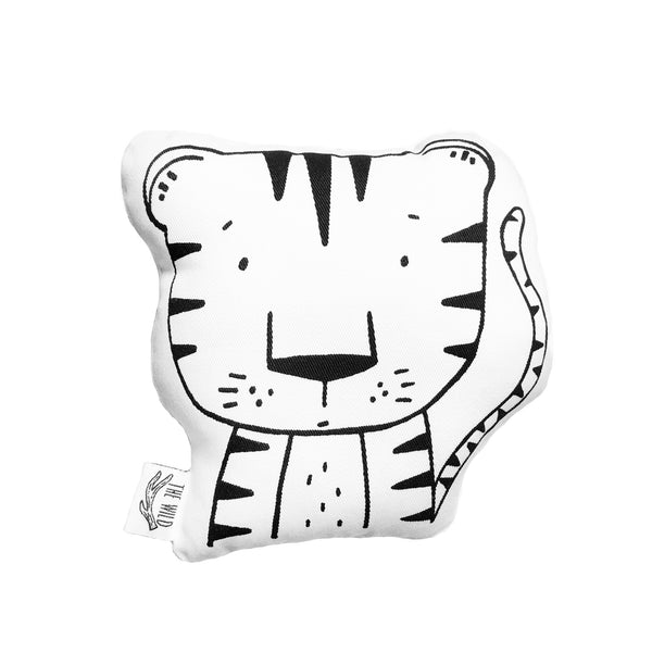 Thomas the Tiger Soft Toy Pillow by The Wild
