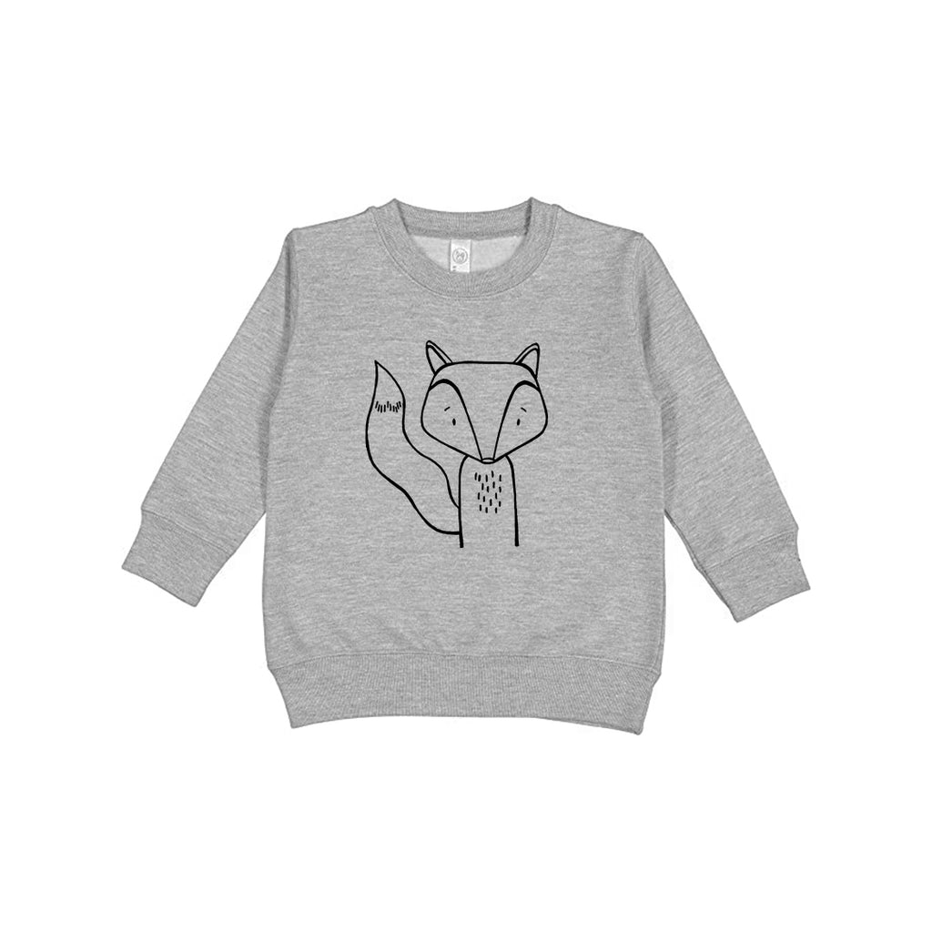 Finn the Fox Kids Sweatshirt