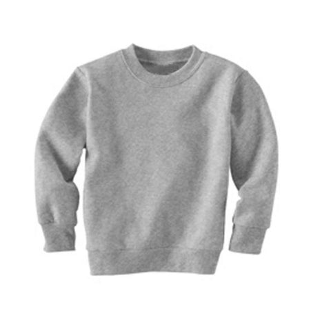 Custom Grey Kids Sweatshirt - Choose Your Own Design!