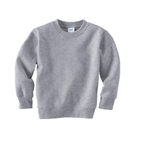 Custom Kids Sweater - Grey
