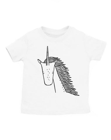 Ulysses the Unicorn Kids T-Shirt by thewildkidsapparel.com
