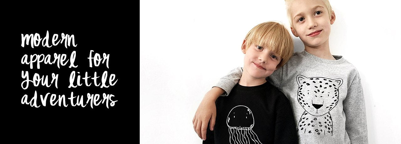 The Wild - Modern apparel for hip kids - thewildkidsapparel.com
