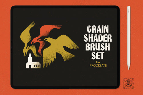 Grain Shaders for Procreate