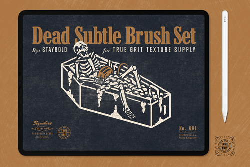 Dead Subtle Brushes for Procreate