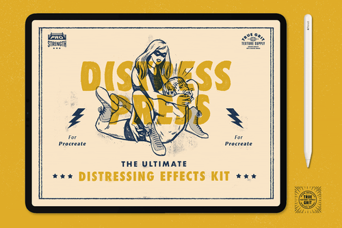 Distress Press for Procreate