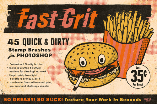 Fast Grit For Photoshop