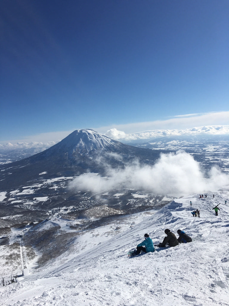 Skiing In Nieseko, Japan