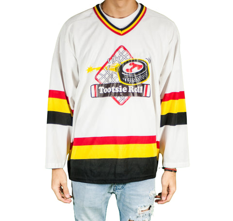Tootsie Roll Candy Vintage Hockey Jersey