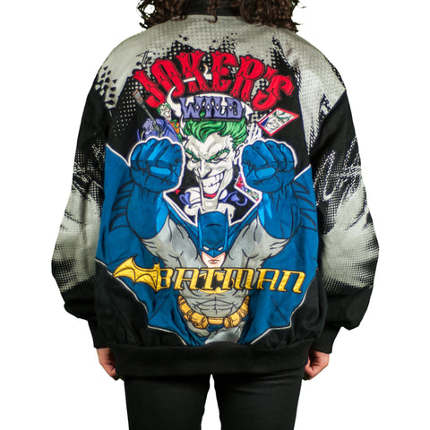 Jokers Wild Vs Batman Vintage Jeff Hamilton Jacket