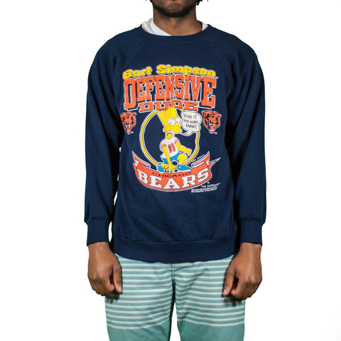 Chicago Bears Bart Vintage Sweatshirt